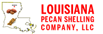 louisiana pecan shelling logo