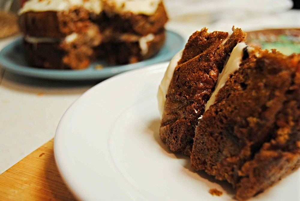 Not Your Mama's Carrot Cake